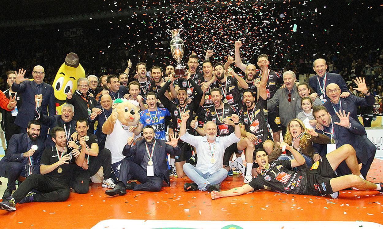 La Coppa Italia è della Lube, la Diatec Trentino battuta in finale 3-1