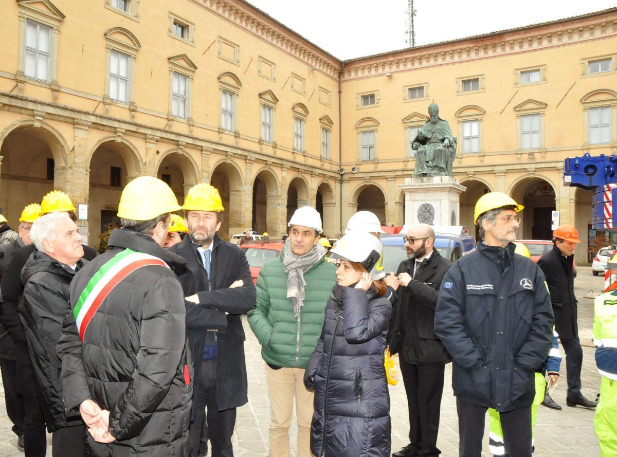 Il ministro Franceschini nelle Marche dell'arte, patrimonio delle comunità