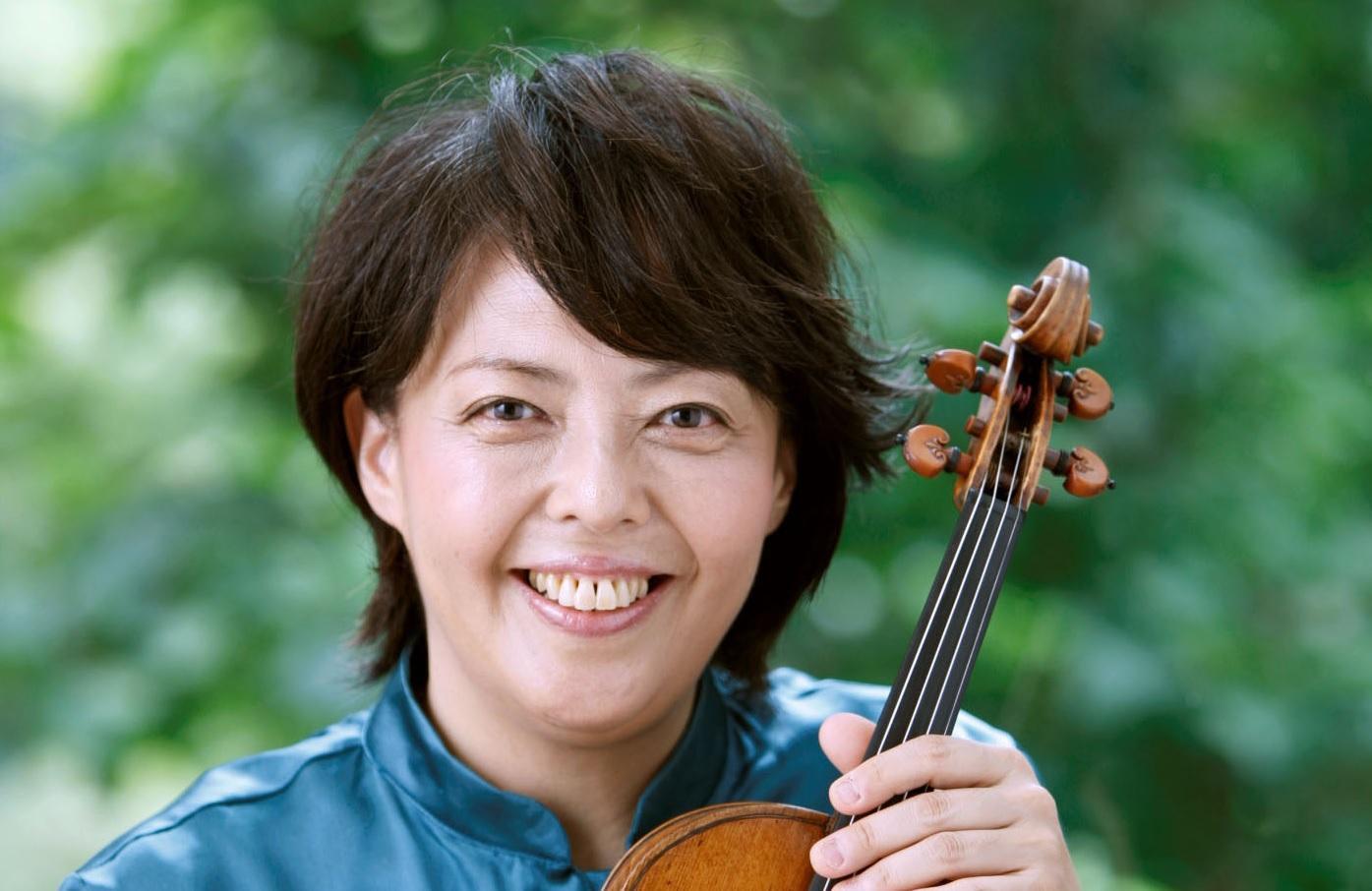 Filarmonica e la violinista Yuzuko Horigome in concerto al Lauro Rossi