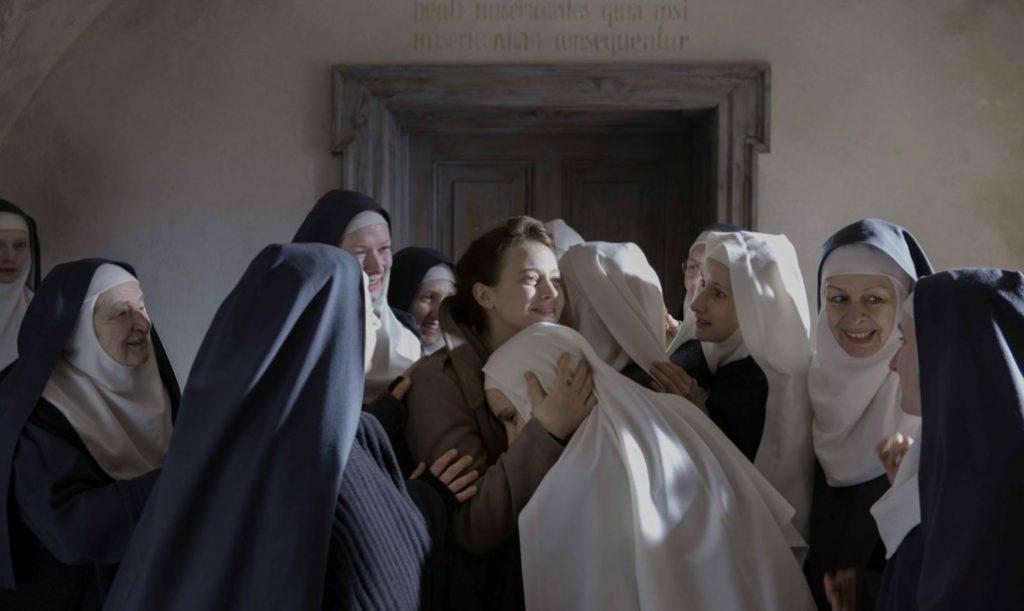 Una scena del film Agnus Dei