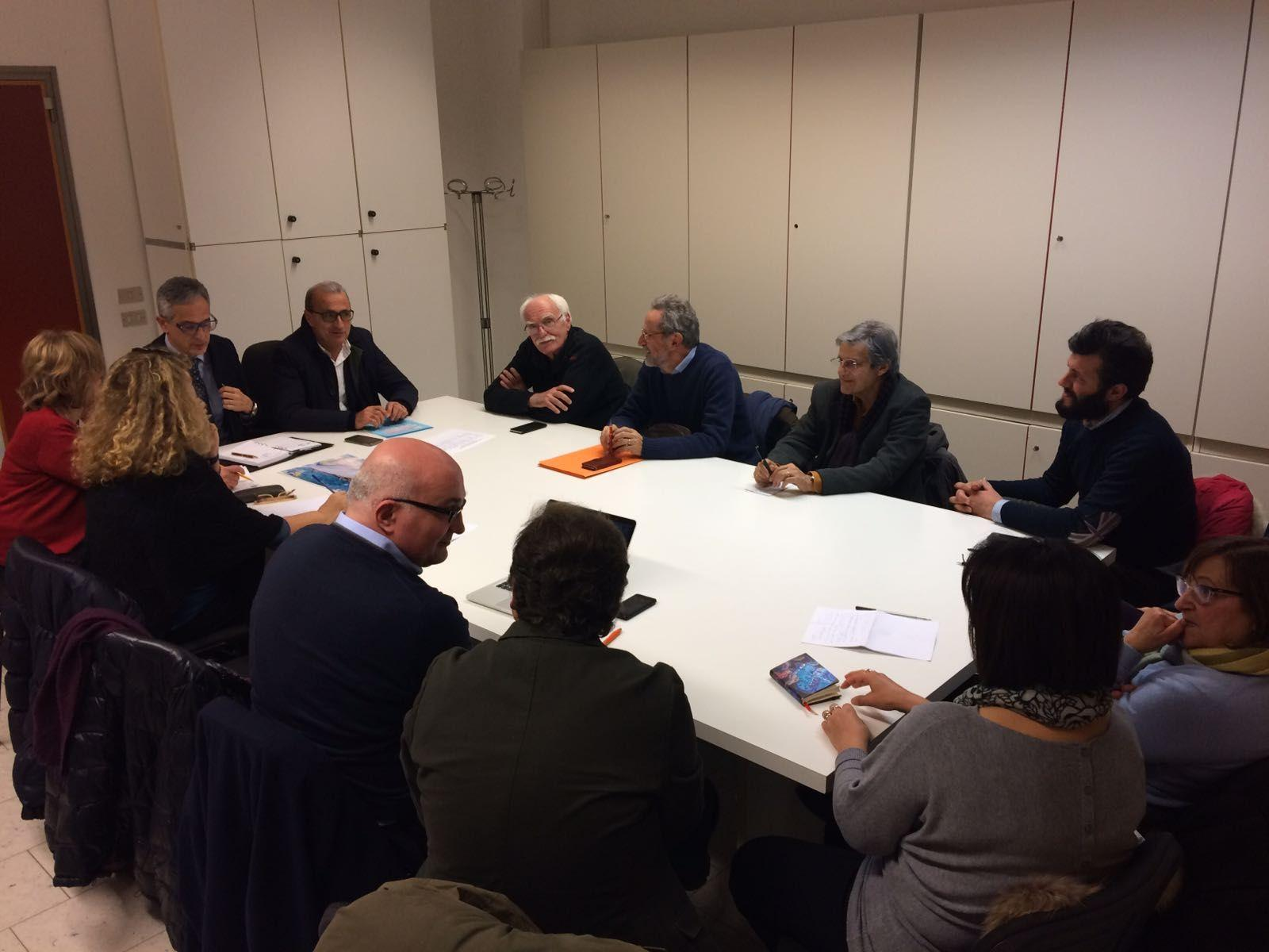 Il ruolo del Volontariato, incontro in Regione tra il CRV e l'assessore Cesetti