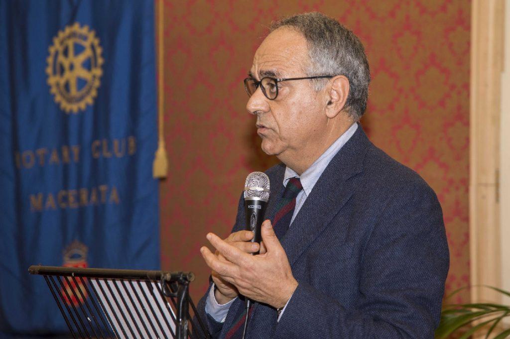 Francesco Adornato, rettore dell'Università di Macerata