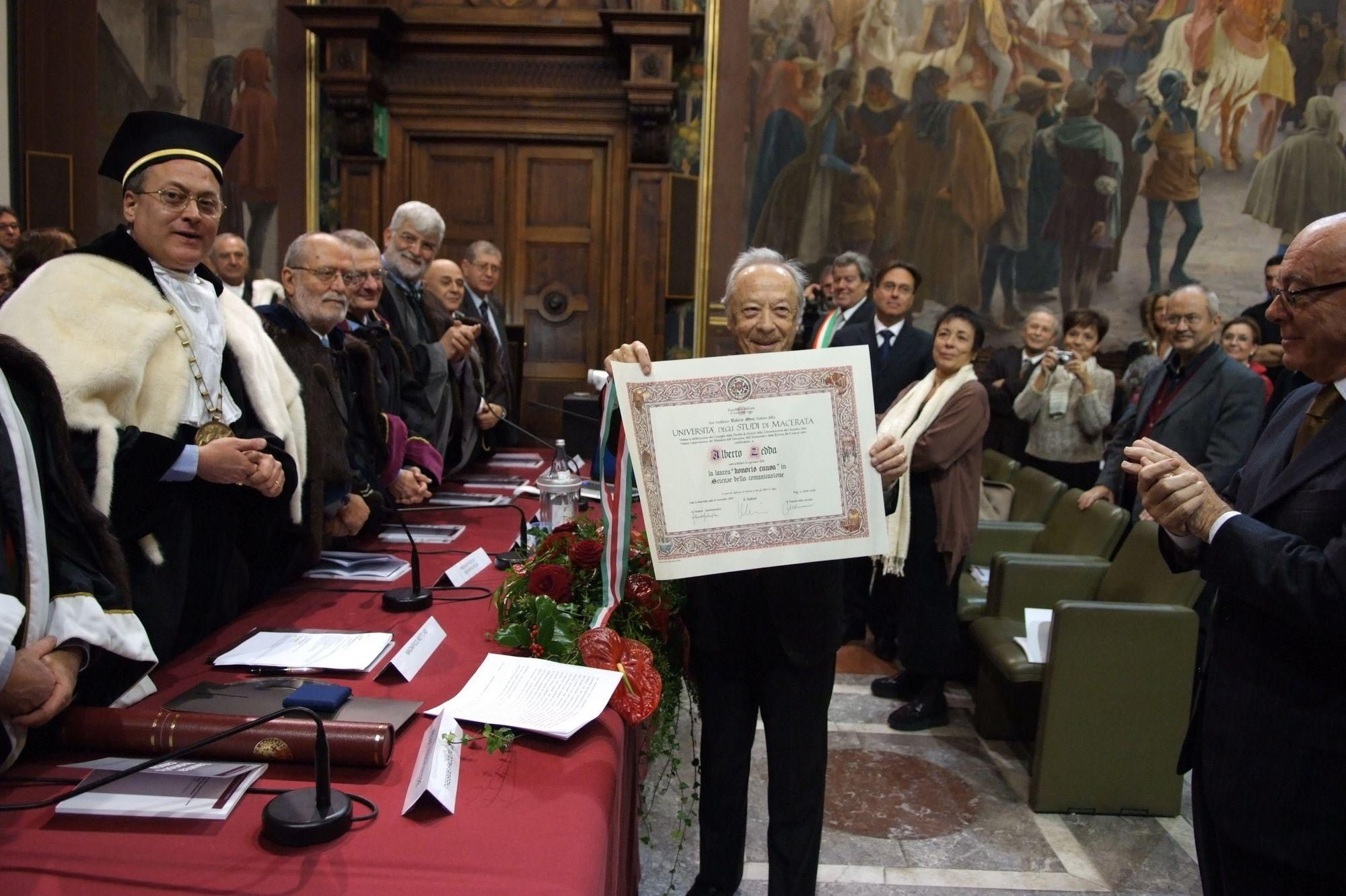 La scomparsa del Maestro Alberto Zedda, il cordoglio del rettore Unimc
