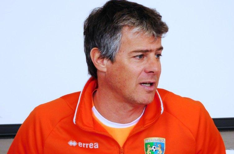 Michele Serena, allenatore della FeralpiSalò