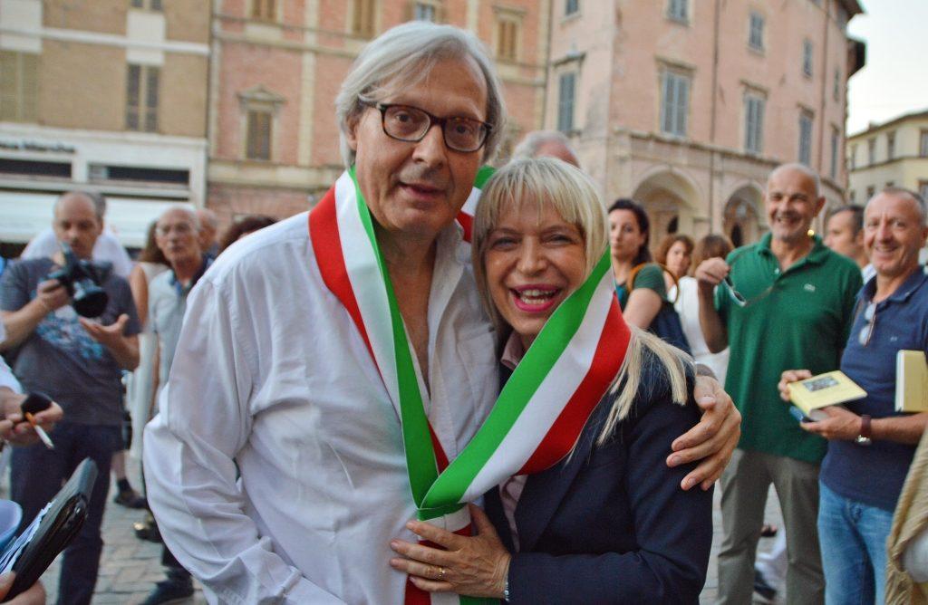 """Sgarbi cittadino di San Severino Marche, il sindaco: """"Ci inorgoglisce"""""""
