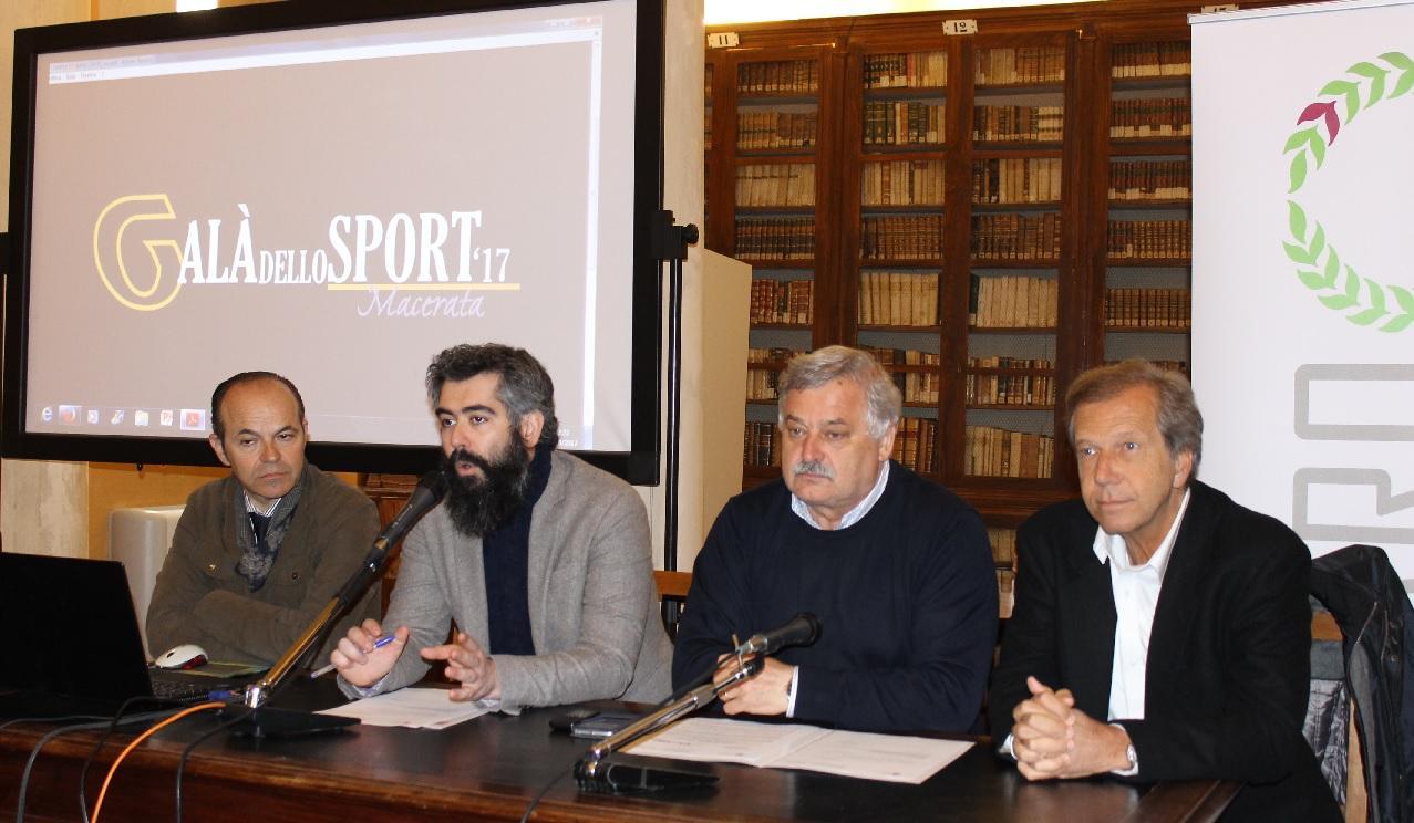 Macerata, il Galà dello Sport con tanti campioni al Teatro Don Bosco