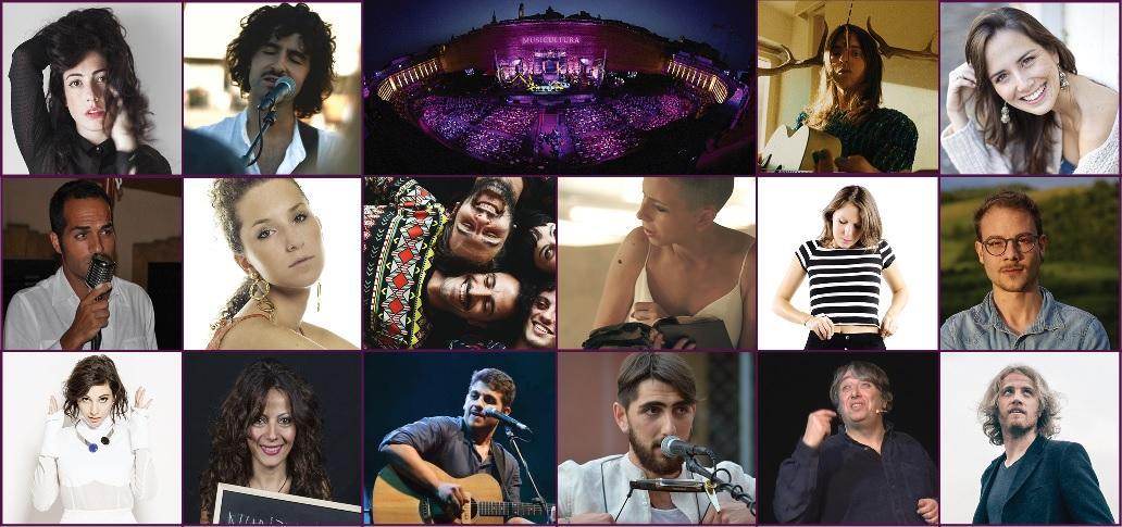 I nomi dei sedici finalisti di Musicultura 2017, presentazione con Tosca