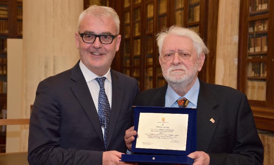Festa alla Biblioteca Mozzi Borgetti per gli 80 anni dell'artista Silvio Craia