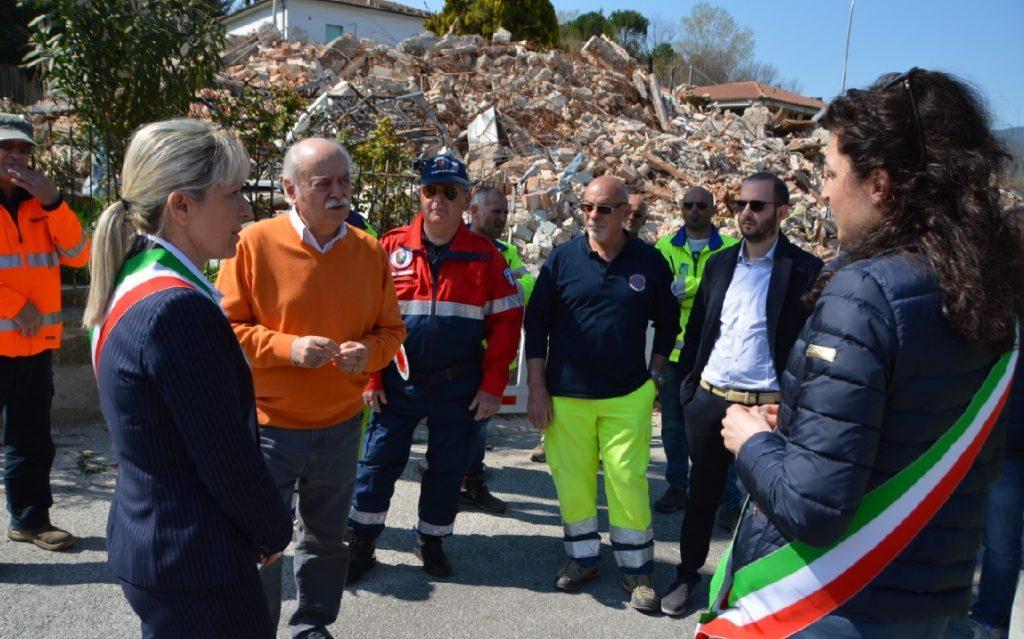 Nella foto di Saverio Serini: Rosa Piermattei, Antonio Pettinari e Silvia Pinzi