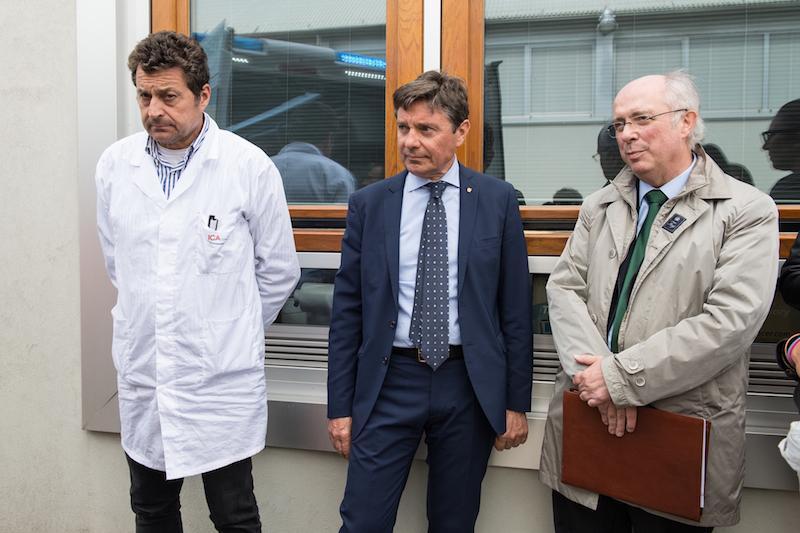 Piero Paniccia, Sandro Paniccia e Cesare Bartolucci