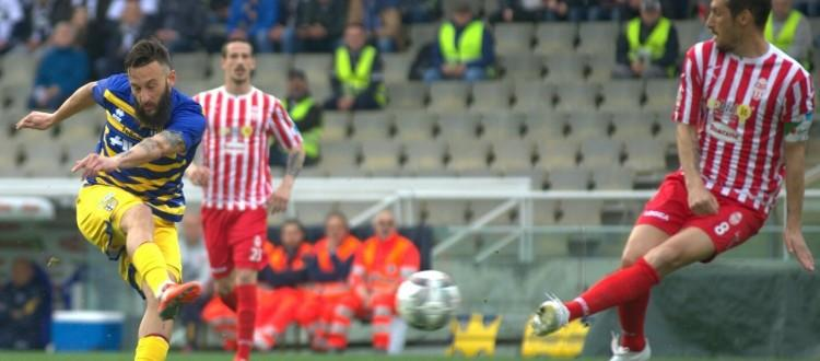 Parma-Maceratese 2-0, prova coraggiosa ma emiliani troppo forti