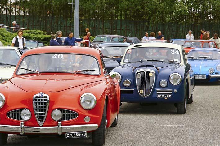 Circolo Lodovico Scarfiotti di Recanati, tour con le auto d'epoca