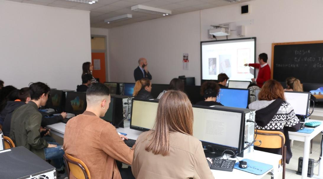 L'Istituto Bramante-Pannaggi in un progetto europeo di scambio docenti