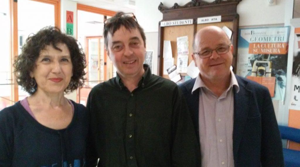 I docenti Rita Morresi, Francois Marie Billard, Stefano D'Amico
