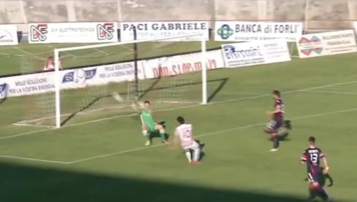 Il gol di Turchetta
