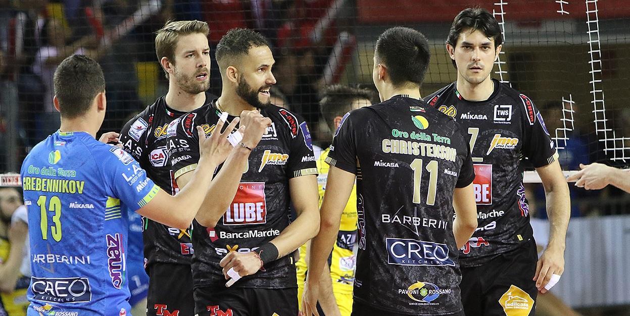 Lube a Modena per Gara 4, primo match ball per la Finale Scudetto