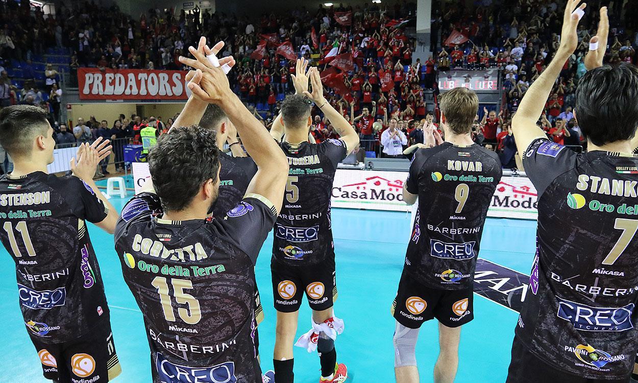 Lube-Perugia, sabato (19.30) il derby italiano semifinale di Champions