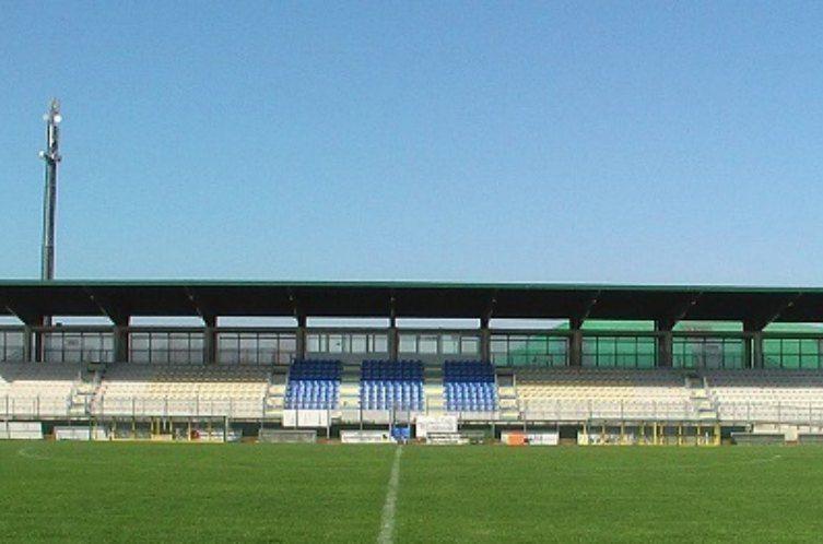 Lo stadio Valentino Mazzola di Santarcangelo