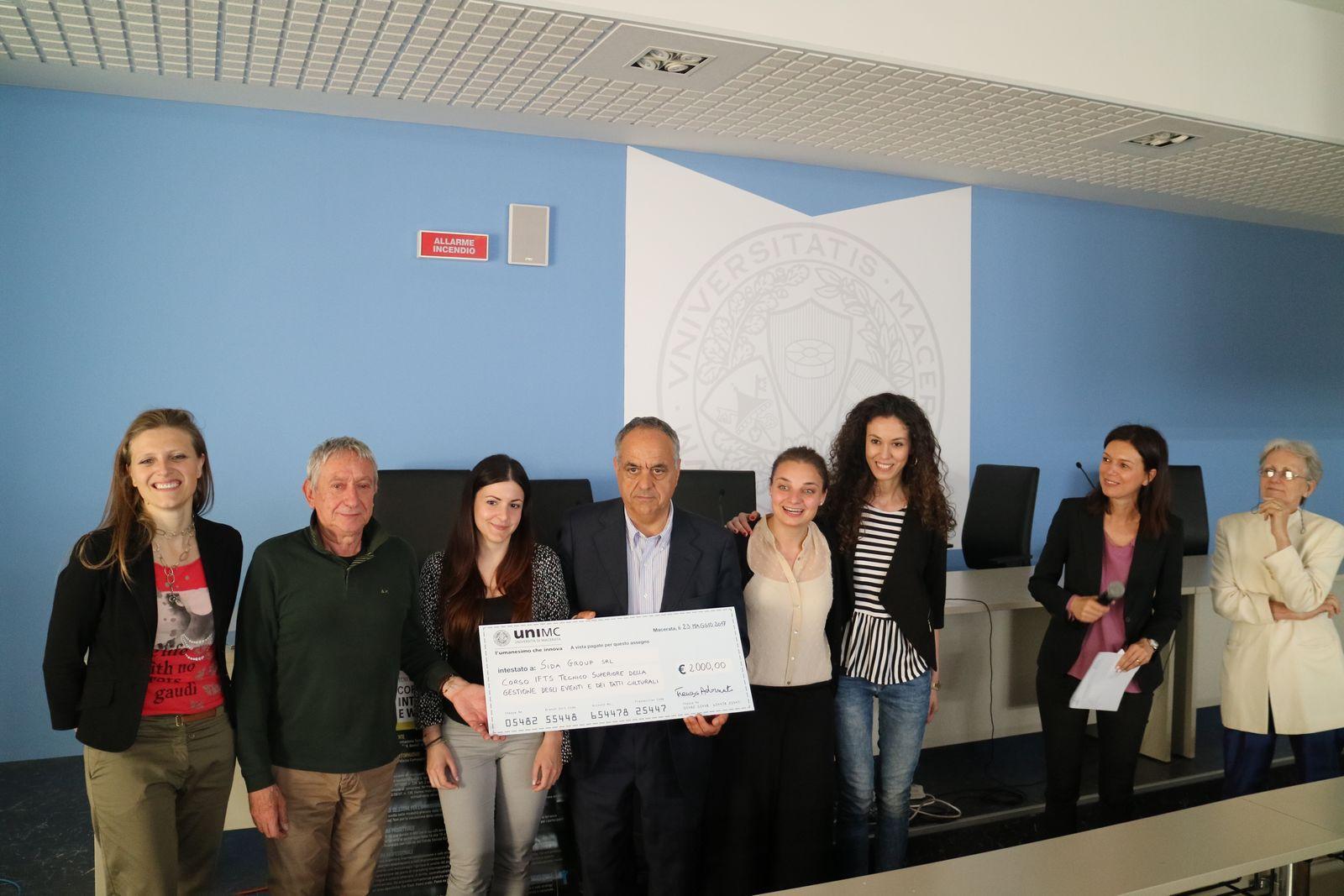 Unimc e Confindustria Macerata, premiate le idee dei giovani studenti