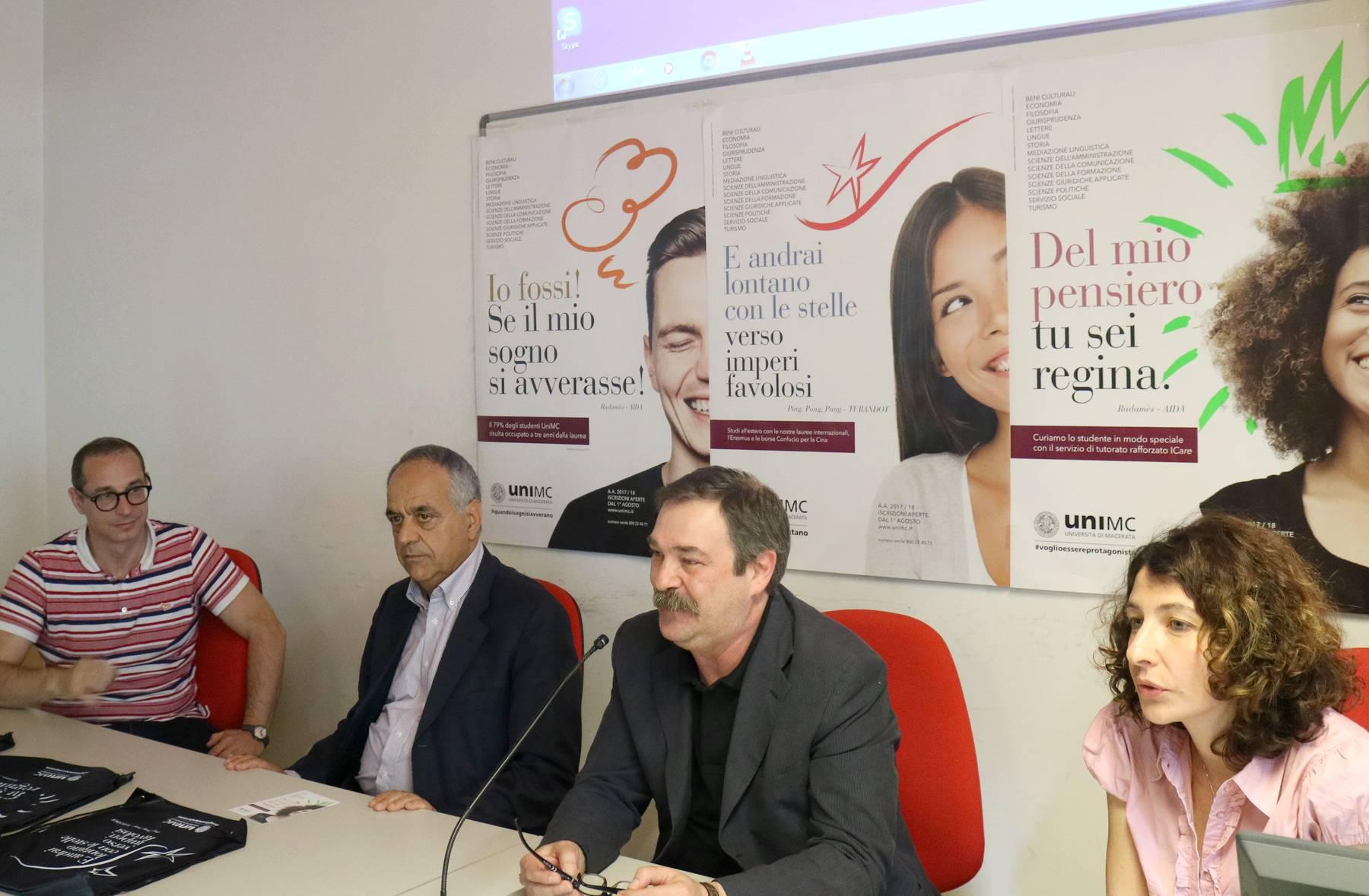 Unimc, campagna di comunicazione con Macerata Opera Festival