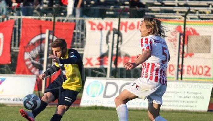 Santarcangelo-Maceratese 5-1, bel primo tempo poi il crollo