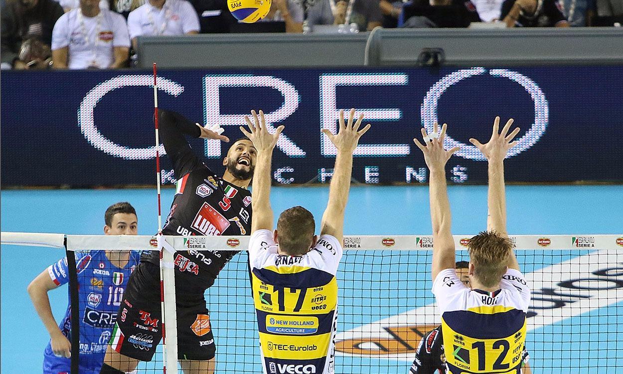 Lube in finale Supercoppa, rimonta e supera Modena 3-1