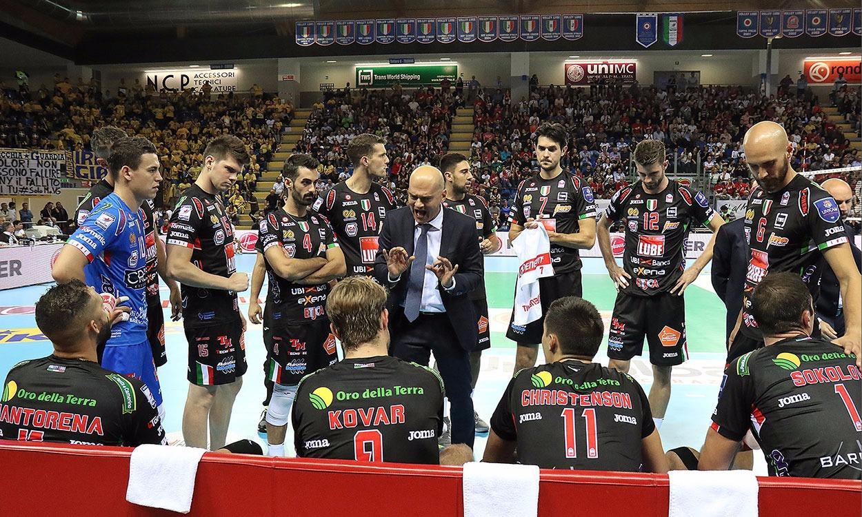 """Supercoppa tra Lube e Perugia. Medei: """"La squadra è cresciuta"""""""
