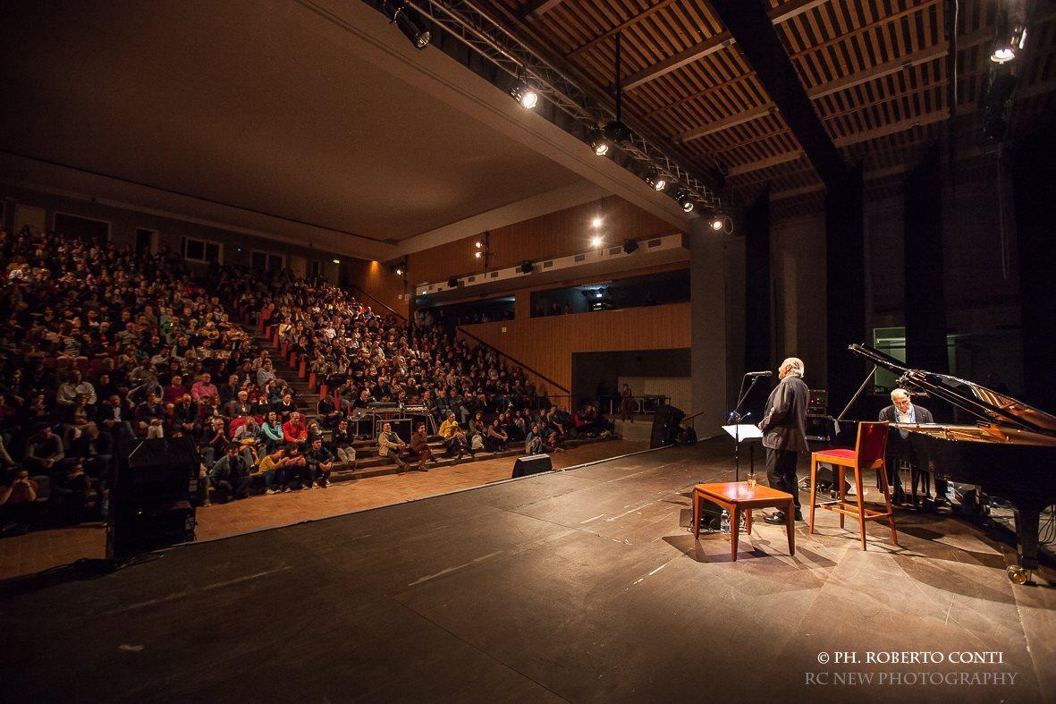 Emozionante concerto di Gino Paoli e Danilo Rea a Camerino