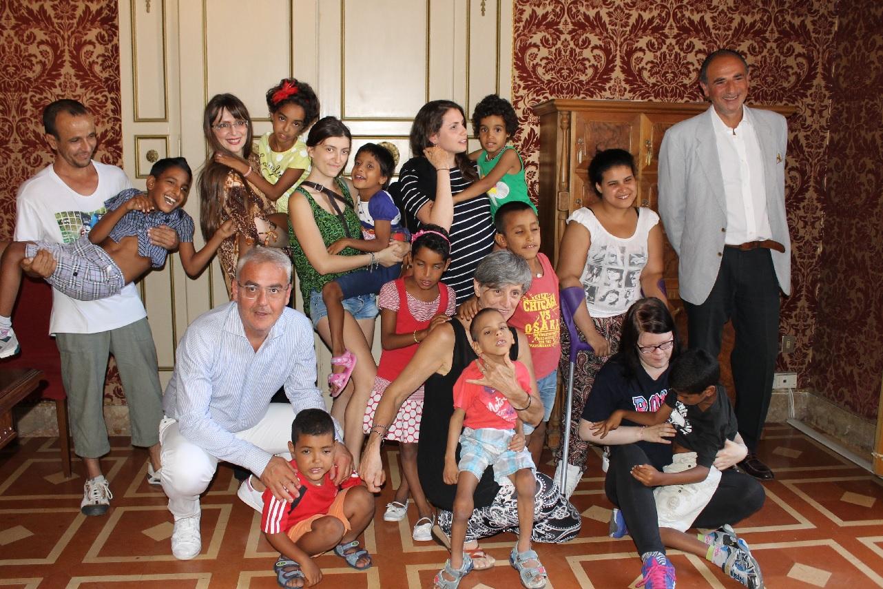 Macerata, bambini del Saharawi accolti in Consiglio comunale