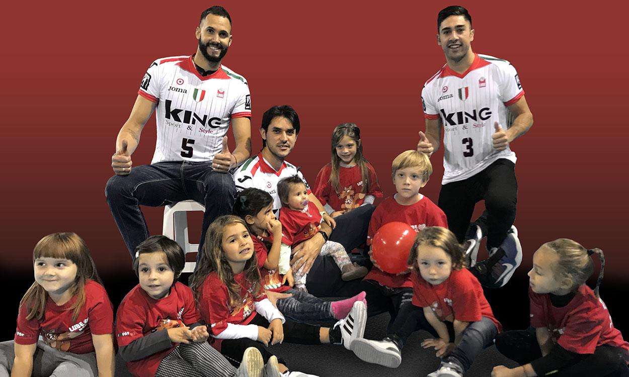 La Lube sostiene LNC 4 CHILDREN e prepara il match di domenica