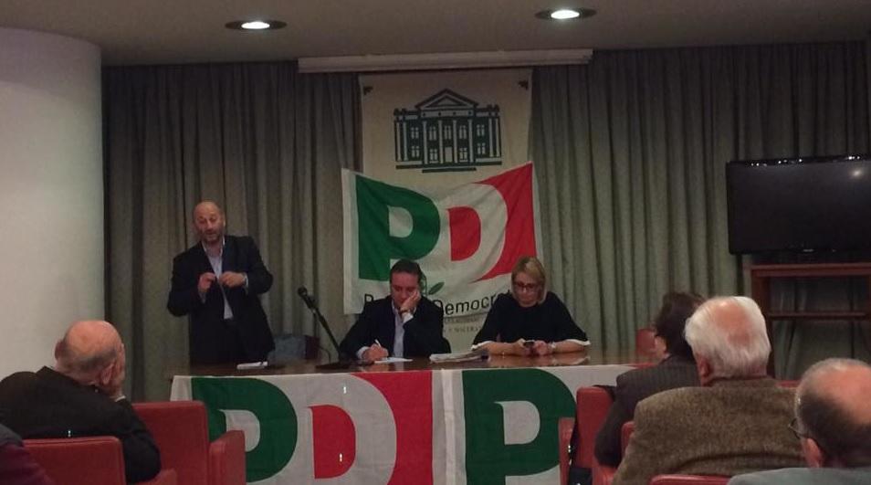 PD Macerata, prima assemblea con il nuovo segretario Di Pietro