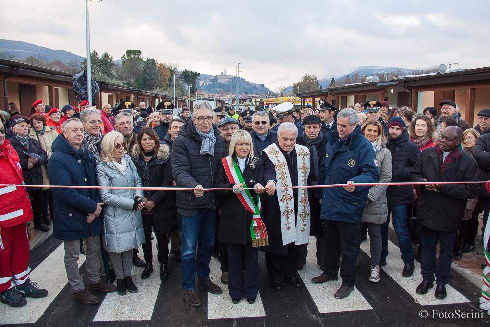 """San Severino Marche,  68 famiglie nel villaggio """"Campagnano"""""""