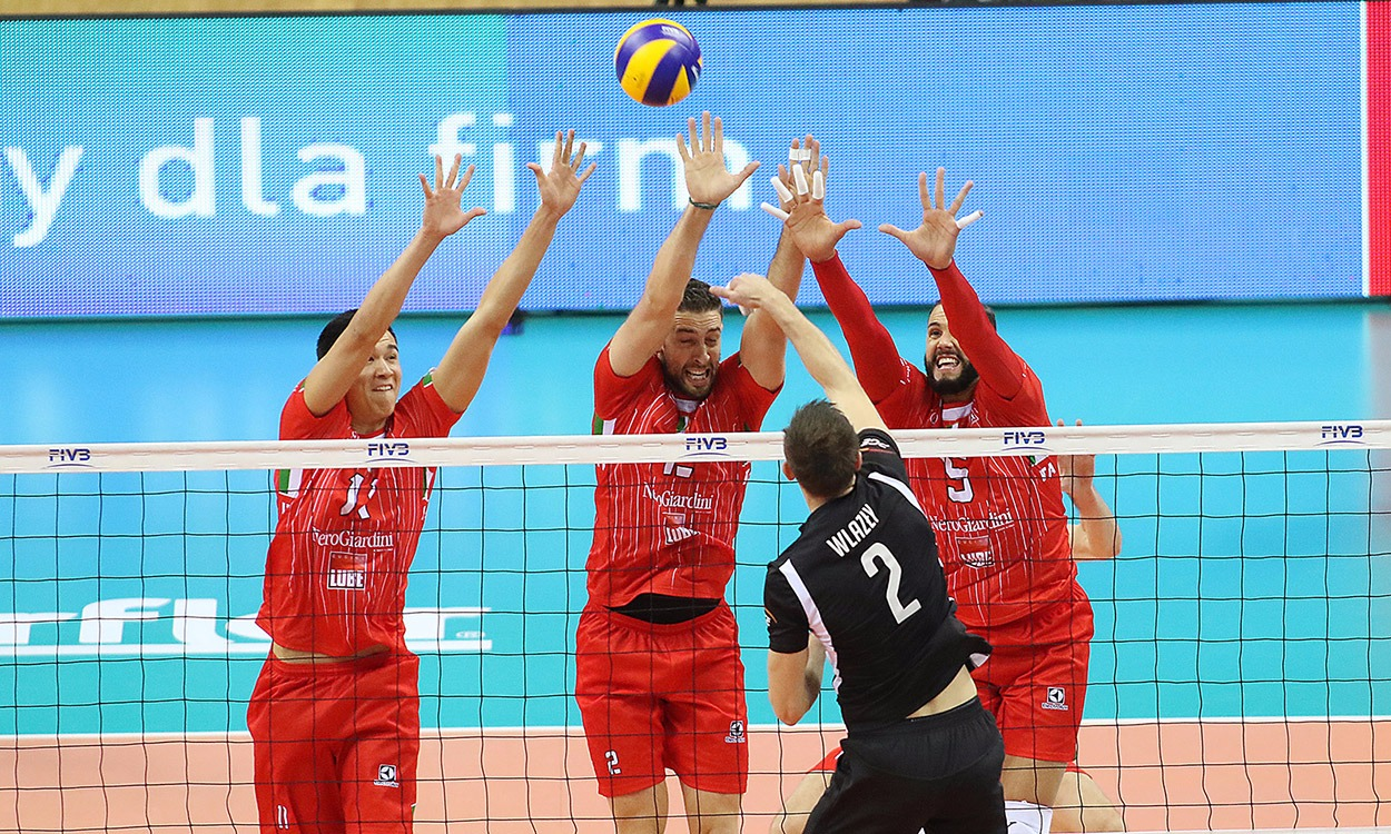 Lube-Belchatow 3-0, domenica (ore 20.30) la finale del Mondiale
