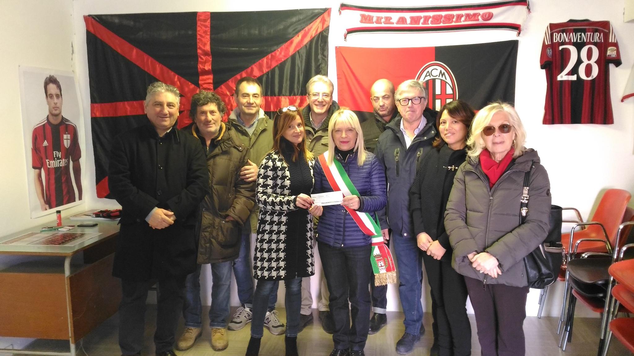 San Severino Marche, dai Milan Club fondi per il Teatro Italia