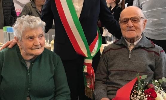 San Severino Marche, festa per i 100 anni di Ubaldo Ricottini