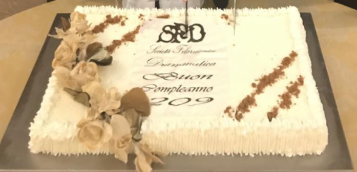 Macerata, la Società Filarmonico-Drammatica festeggia 209 anni