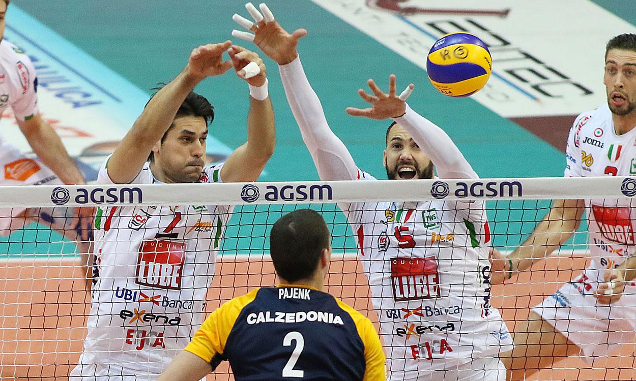 Calzedonia Verona-Lube 0-3, settima vittoria consecutiva
