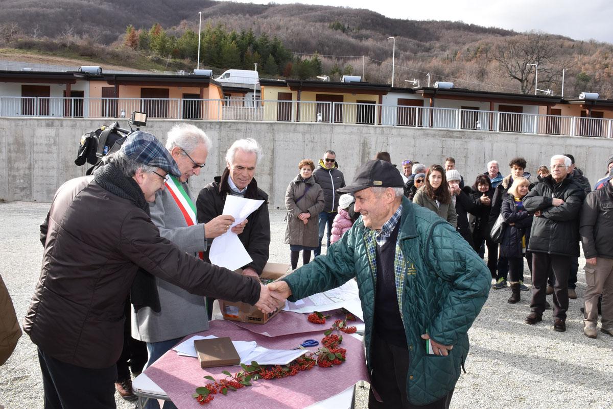 A Fiastra e Pieve Torina consegnate altre 47 casette