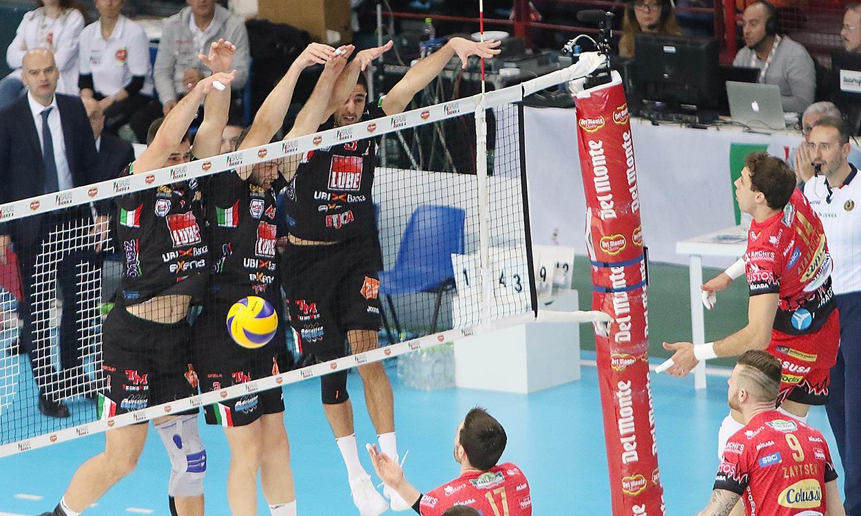 Lube-Perugia 1-3, sfuma in finale la sesta Coppa Italia