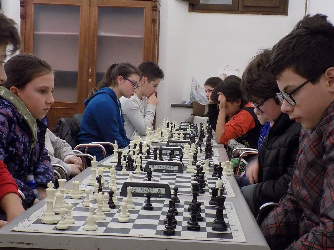 San Severino Marche, giovani scacchisti ai campionati italiani