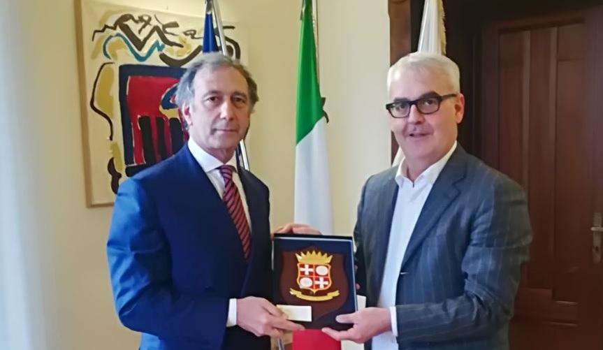Incontro tra il sindaco Carancini e il nuovo questore Pignataro