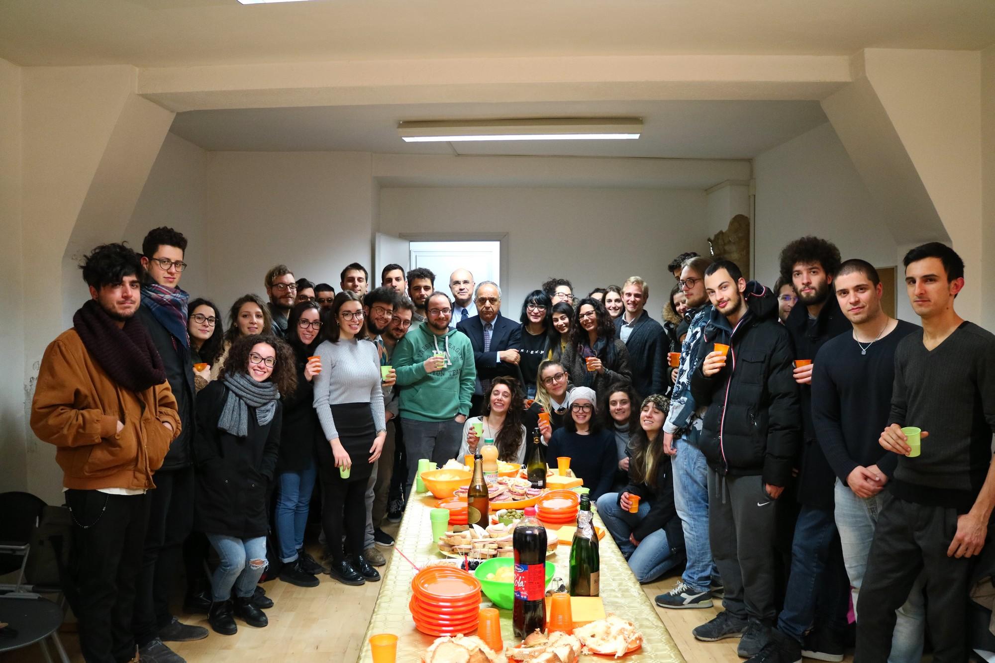Unimc, inaugurato lo spazio autogestito dagli studenti