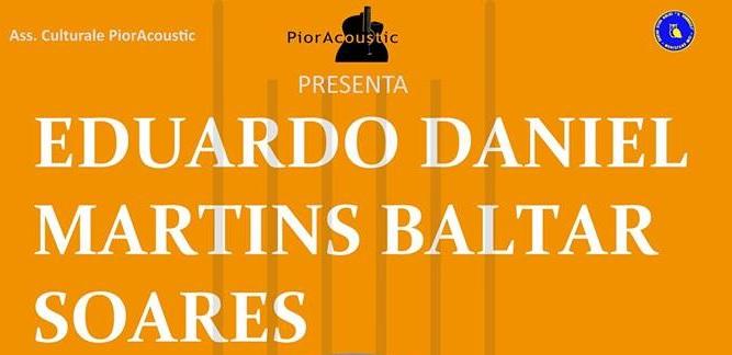 Montefano, concerto del chitarrista Eduardo Baltar Soares