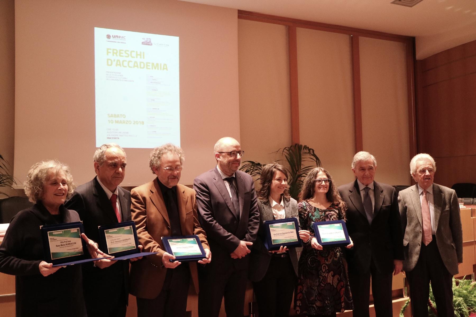 Unimc premiata per il progetto di rilancio delle aree interne
