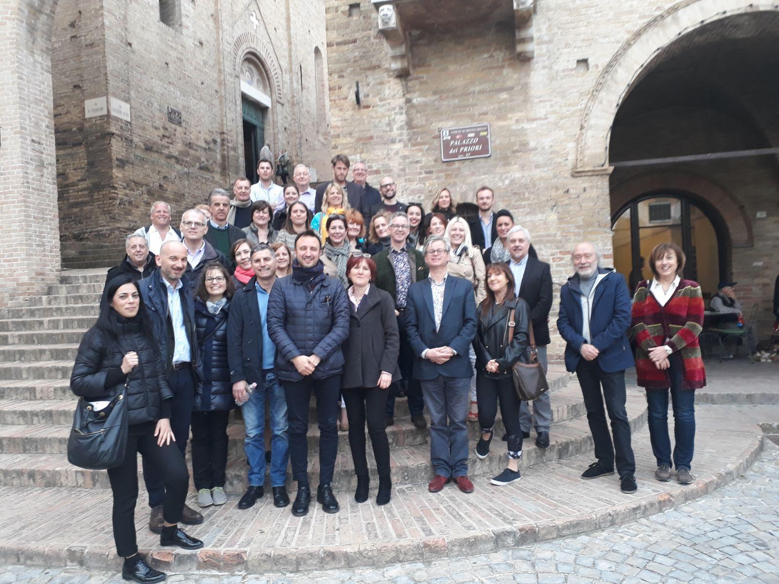 Montecassiano, il Borgo visitato da tour operator inglesi