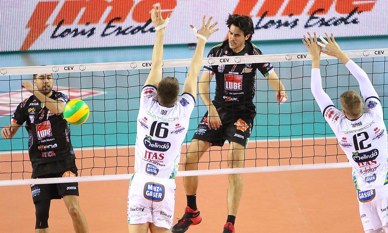 Champions League, la Lube vince il primo match con Trento