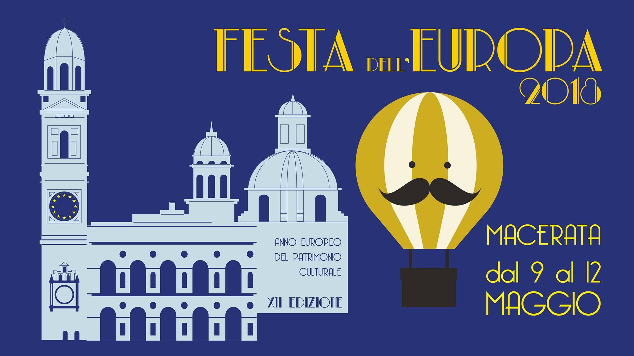 Festa dell'Europa a Macerata, eventi e aperitivi europei