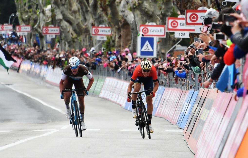 Il Giro d'Italia a Osimo, è la tappa dei Muri