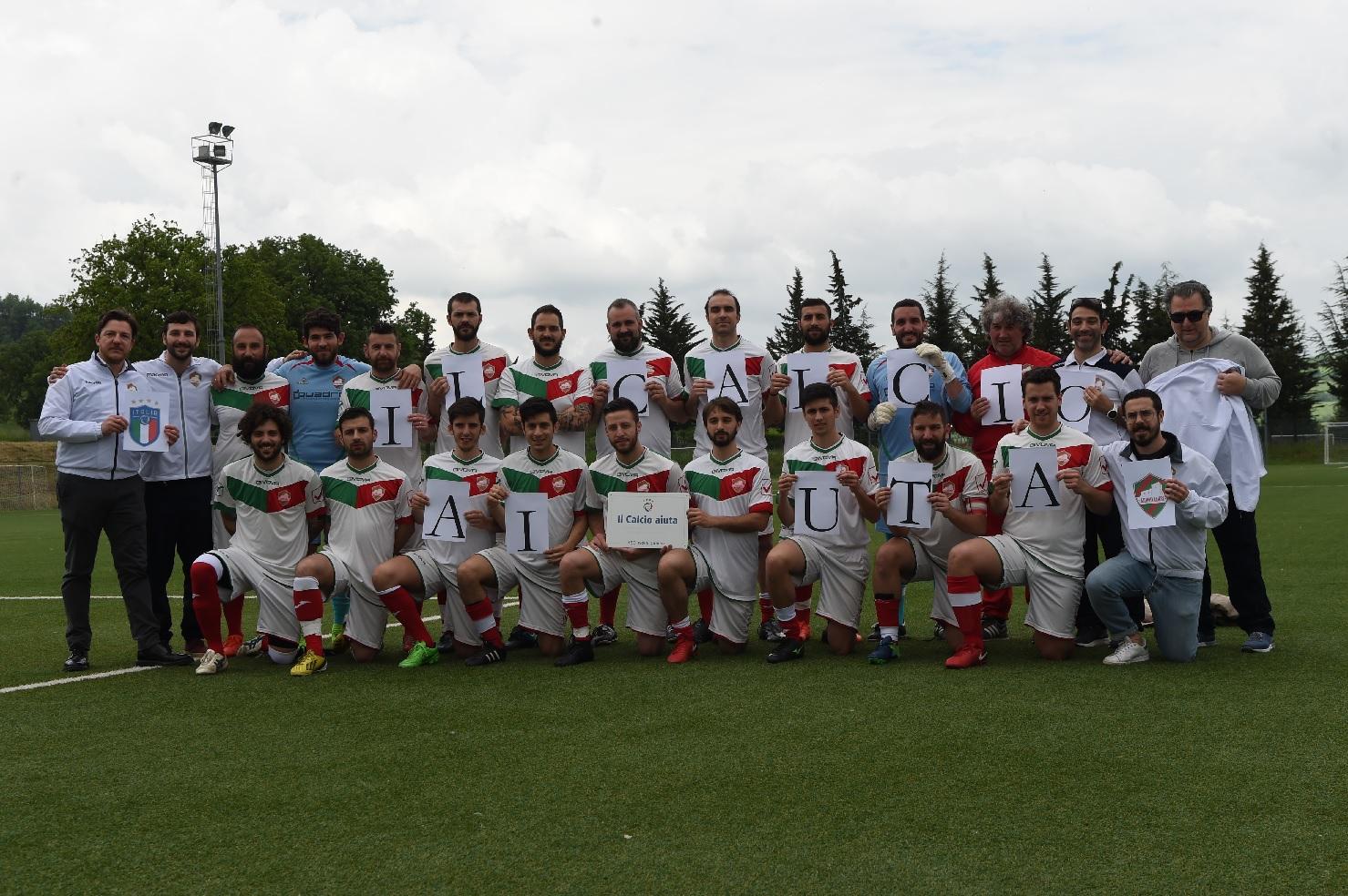 """Nova Camers, il sostegno della FIGC con """"Il calcio aiuta"""""""