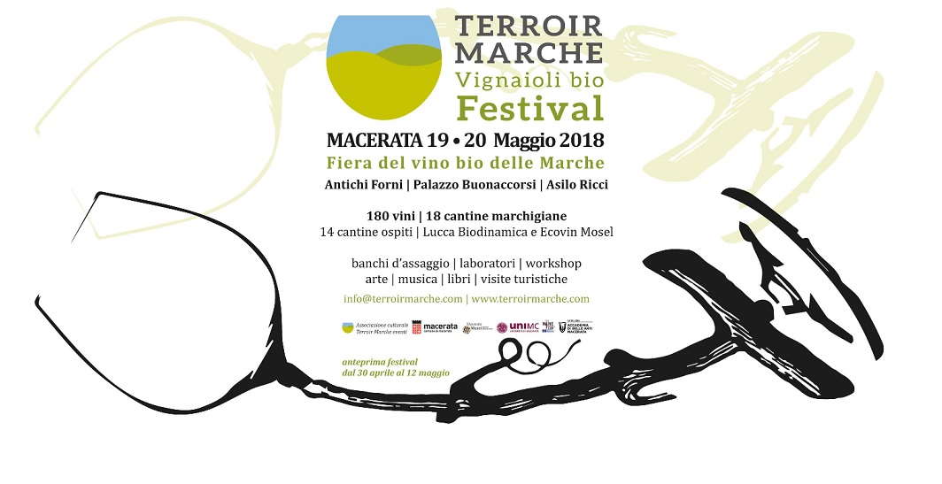 Terroir Marche, a Macerata la Fiera del vino biologico